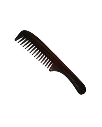 Pocket Size Hair Comb With Handy Grip